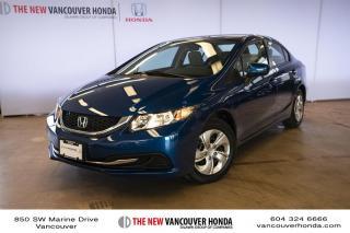 Used 2015 Honda Civic Sedan LX CVT for sale in Vancouver, BC