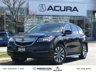 Used 2016 Acura MDX Navi SH-AWD, Running Boards, Pwr Liftgate for sale in Markham, ON
