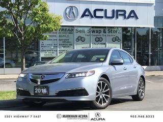 Used 2016 Acura TLX 3.5L SH-AWD w/Tech Pkg Nav, BSM, Wntr Tirs, Rmt Strt for sale in Markham, ON