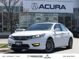 Used 2013 Honda Accord Sedan L4 Touring CVT A/S Tires Avail, Navi, LED Lights for sale in Markham, ON