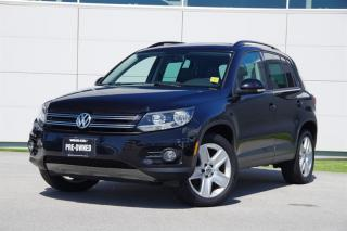 Used 2013 Volkswagen Tiguan Highline 6sp at Tip 4M for sale in Vancouver, BC