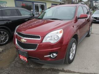 Used 2010 Chevrolet Equinox GAS SAVING LT MODEL 5 PASSENGER 2.4L - ECO-TEC.. ECON-BOOST.. CD/AUX INPUT.. KEYLESS ENTRY.. for sale in Bradford, ON
