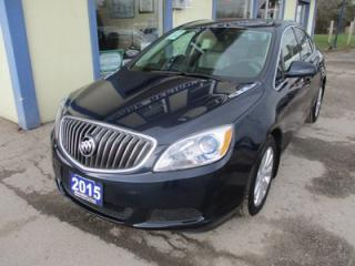 Used 2015 Buick Verano POWER EQUIPPED CX MODEL 5 PASSENGER 2.4L - ECO-TEC.. LEATHER TRIM.. CD/AUX/USB INPUT.. KEYLESS ENTRY.. for sale in Bradford, ON