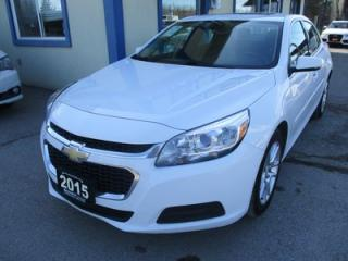 Used 2015 Chevrolet Malibu LOADED LT MODEL 5 PASSENGER 2.5L - ECO-TEC.. LEATHER TRIM.. TOUCH SCREEN.. BACK-UP CAMERA.. POWER SUNROOF.. for sale in Bradford, ON