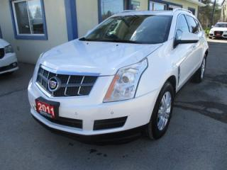 Used 2011 Cadillac SRX LOADED ALL-WHEEL DRIVE 5 PASSENGER 3.0L - V6.. LEATHER.. HEATED SEATS.. PANORAMIC SUNROOF.. BACK-UP CAMERA.. BOSE AUDIO SYSTEM.. for sale in Bradford, ON