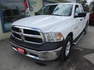 Used 2017 Dodge Ram 1500 WORK READY SLT MODEL 6 PASSENGER 5.7L - HEMI.. 4X4.. QUAD-CAB.. SHORTY.. AUX/USB INPUT.. TOW SUPPORT.. for sale in Bradford, ON