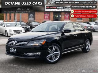 Used 2014 Volkswagen Passat 2.0 TDI Highline Accident Free! Navi! B.up Camera! for sale in Scarborough, ON