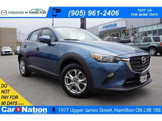 Used 2019 Mazda CX-3 GS | LEATHERETTE | SUNROOF | REAR CAM | AWD for sale in Hamilton, ON