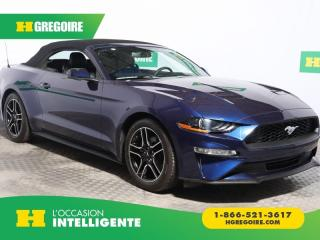 Used 2018 Ford Mustang EcoBoost Premium for sale in St-Léonard, QC