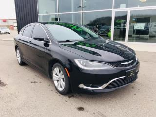 Used 2016 Chrysler 200 Heated Seats. Bluetooth for sale in Ingersoll, ON