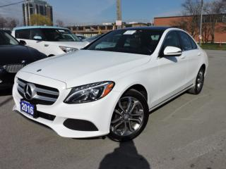Used 2016 Mercedes-Benz C-Class C300 C300 | NAVI | PANO ROOF | CLEAN CARFAX for sale in BRAMPTON, ON