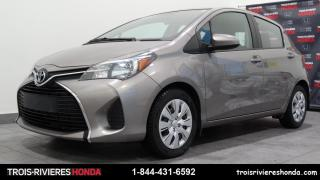Used 2015 Toyota Yaris LE for sale in Trois-Rivières, QC