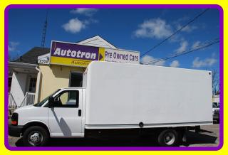 Used 2013 Chevrolet G3500 16' Cube, Ramp, A/C for sale in Woodbridge, ON