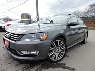 Used 2015 Volkswagen Passat LEATHER SUNROOF BACK UP CAM for sale in BRAMPTON, ON