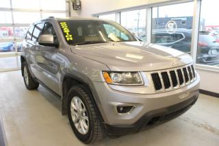 Used 2016 Jeep Grand Cherokee LAREDO 4WD GPS CUIR TOIT for sale in Lévis, QC