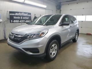 Used 2015 Honda CR-V LX*  traction integrale $66.15/sem+taxes for sale in St-Raymond, QC