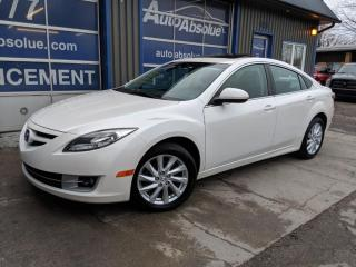 Used 2013 Mazda MAZDA6 Gt + cuir + toit + 74 000 km for sale in Boisbriand, QC