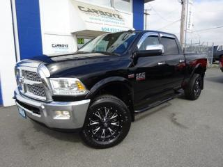 Used 2015 RAM 2500 Laramie 4x4, Crew 6.6 Box, Nav, Sunroof, Leather for sale in Langley, BC