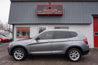Used 2013 BMW X3 xDrive for sale in Lévis, QC