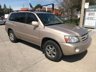 Used 2006 Toyota Highlander SHIPPERS SPECIAL,7PASSENGERS,LEATHER,$6900. for sale in Toronto, ON