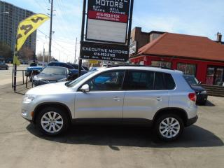 Used 2011 Volkswagen Tiguan COMFORTLINE / PANO ROOF / ALLOYS/ NEW BRAKES / for sale in Scarborough, ON