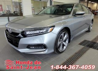 Used 2018 Honda Accord Touring Navi Cuir Toit Camera for sale in St-Jean-Sur-Richelieu, QC