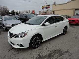 Used 2017 Nissan Sentra SR Turbo Cuir Toit GPS Cam a vendre for sale in Laval, QC