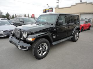 Used 2018 Jeep Wrangler Unlimited Sahara JL 4X4 GPS Cam a vendre for sale in Laval, QC