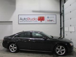 Used 2012 Audi A8 Prime 4.2 Quattro **NAVI**TOUT ÉQUIPÉ** for sale in Mirabel, QC