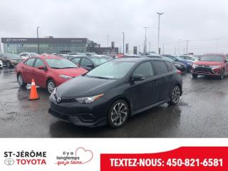 Used 2018 Toyota Corolla IM for sale in Mirabel, QC
