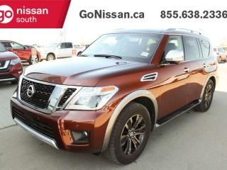 Used 2017 Nissan Armada Platinum Edition 4dr 4WD Sport Utility for sale in Edmonton, AB