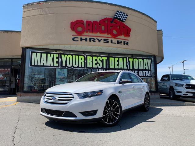 2018 Ford Taurus Limited+AWD+NAV++PAN-ROOF+LEATHER