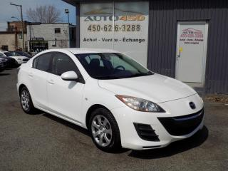 Used 2010 Mazda MAZDA3 ***GS,AUTOMATIQUE,AIR CLIMATISÉ*** for sale in Longueuil, QC