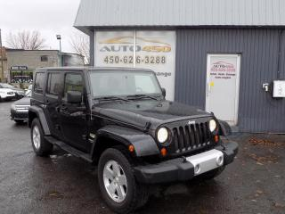 Used 2009 Jeep Wrangler ***WRANGLER,4X4,2 TOITS,MAGS*** for sale in Longueuil, QC