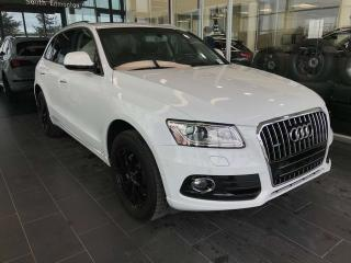 Used 2015 Audi Q5 HEATED SEATS, KEYLESS IGNITION, NAVIGATION, BLUETOOTH for sale in Edmonton, AB