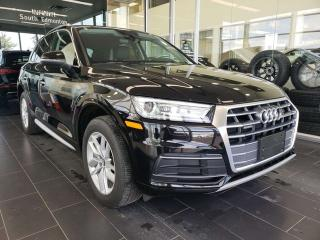 Used 2018 Audi Q5 KOMFORT, NAVI, REAR VIEW CAMERA, SUNROOF, ACCIDENT FREE for sale in Edmonton, AB