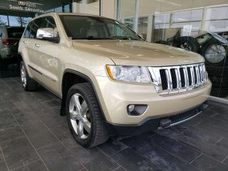 Used 2011 Jeep Grand Cherokee OVERLAND, HEATED SEATS, SUNROOF, REAR VIEW CAMERA for sale in Edmonton, AB