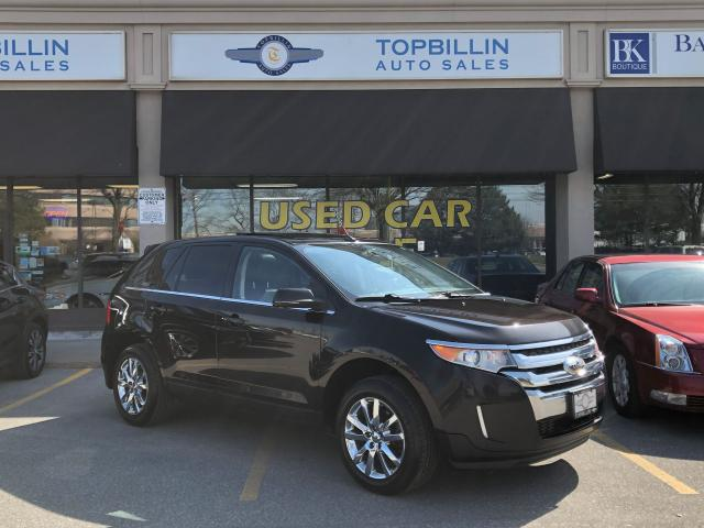 2013 Ford Edge Limited, Navi, Pano Roof, Certified