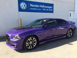 Used 2013 Dodge Charger SRT8 - 6.4L V8 470 HP / RARE COLOUR! for sale in Edmonton, AB