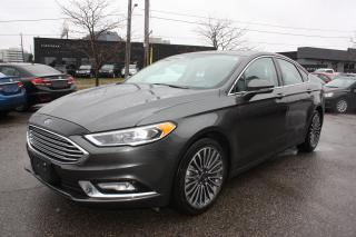 Used 2017 Ford Fusion LEATHER-SUNROOF-NAVI for sale in Toronto, ON