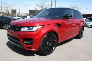 Used 2017 Land Rover Range Rover Sport Dynamic package RED ON RED for sale in Toronto, ON