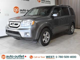 Used 2009 Honda Pilot EX-L 4WD, Leather Heated Seats, Sunroof, DVD, Backup Camera for sale in Edmonton, AB