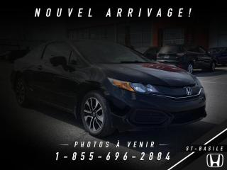 Used 2014 Honda Civic EX 2 portes CVT for sale in St-Basile-le-Grand, QC