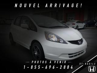 Used 2014 Honda Fit Hayon 5 portes, boîte automatique, LX for sale in St-Basile-le-Grand, QC