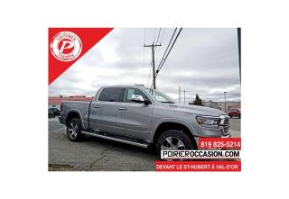 Used 2019 RAM 1500 Laramie DEMO for sale in Val-D'or, QC