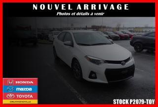 Used 2015 Toyota Corolla S Camera De Recul for sale in Drummondville, QC