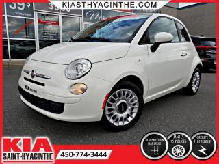 Used 2012 Fiat 500 POP ** GR ÉLECTRIQUE / MAGS for sale in St-Hyacinthe, QC