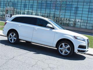 Used 2012 Audi Q7 3.0T|S LINE|NAVI|REARCAM|DUAL DVD|PANOROOF|7 SEATS for sale in Toronto, ON