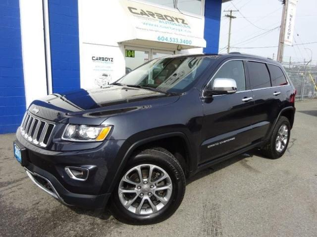 2014 Jeep Grand Cherokee Limited 4WD, Nav, Sunroof, Flat Towable