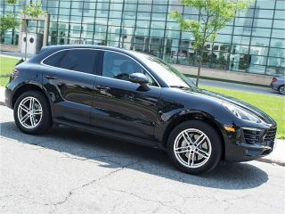 Used 2016 Porsche Macan S|NAVI|REARCAM|PANOROOF|SPORT SEATS for sale in Toronto, ON